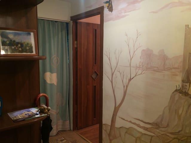 Писательские апартаменты в тихом центре Пушкина