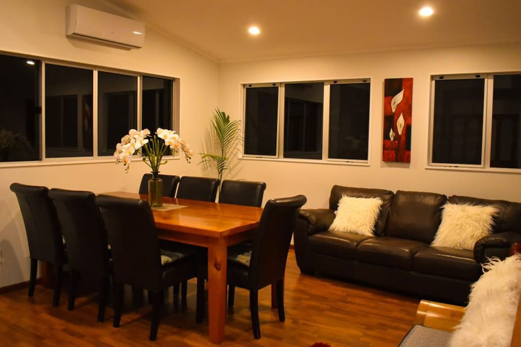 Upstairs - Dining Room - Open Plan Living