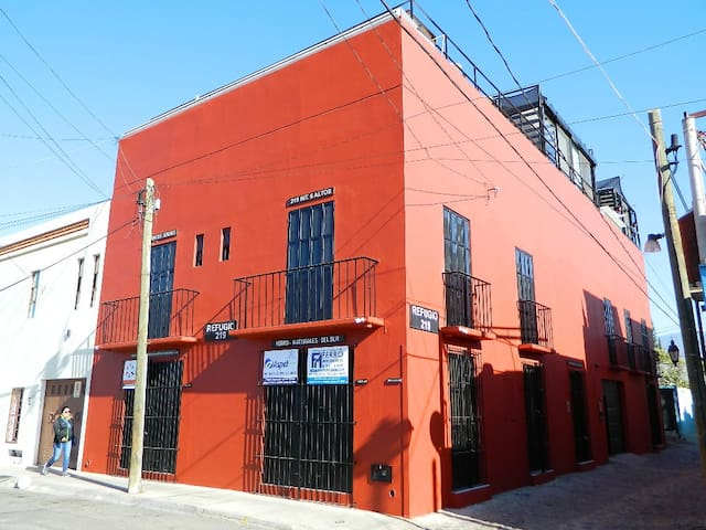 The Red Casita of Oaxaca