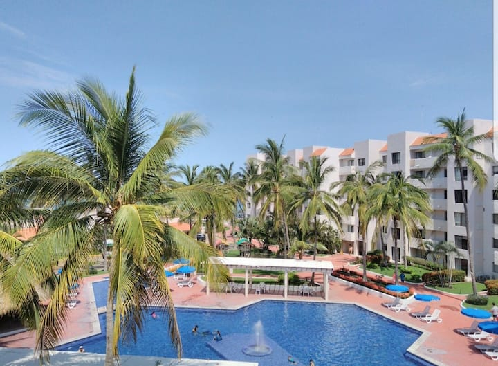 Beachfront Condo! 2 Bedrooms in Nuevo Vallarta.