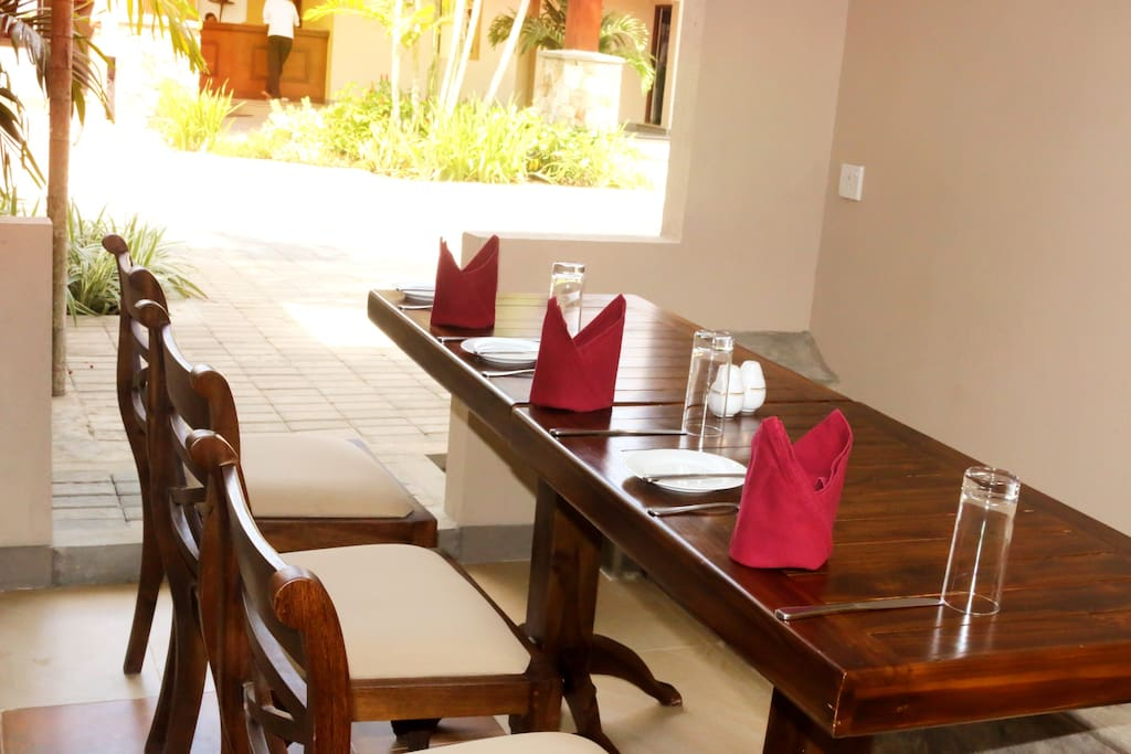 Shared Accommodation Dining Area