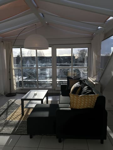 Bright roofstudio near University and Clinic HD - Dossenheim - Andelsboende