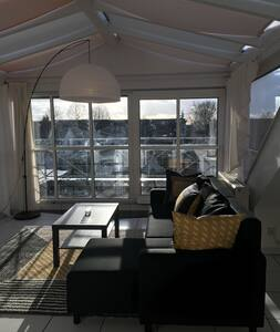 Bright roofstudio near University and Clinic HD - Dossenheim - Devremülk