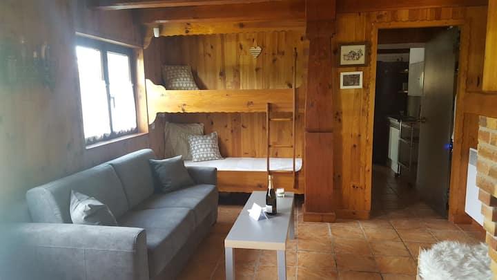 La hutte, havre de paix, 5 min du centre de Colmar