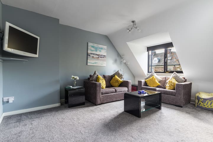 ⭐👍Spacious Modern Loft Apt⭐👍 City Centre-RVI-Uni