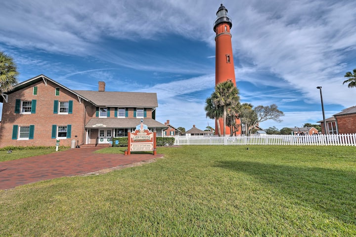 Ponce Inlet Home - Walk to the Lighthouse!
