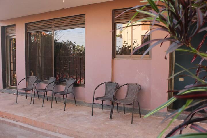 TREKKERS HOSTEL Kampala: Twin room - Kampala - Appartement