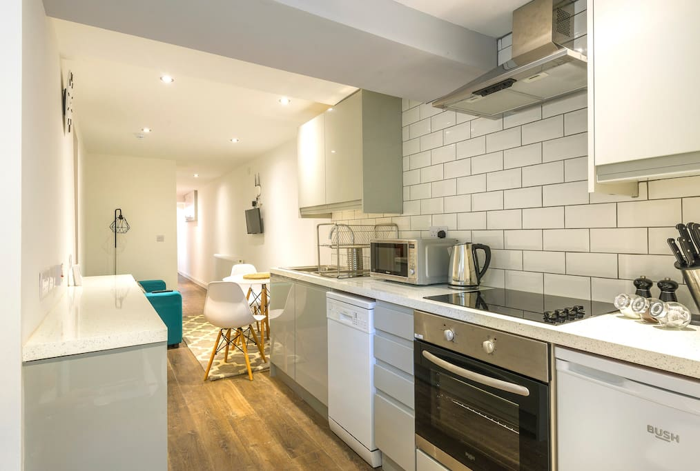 Kitchen/living space