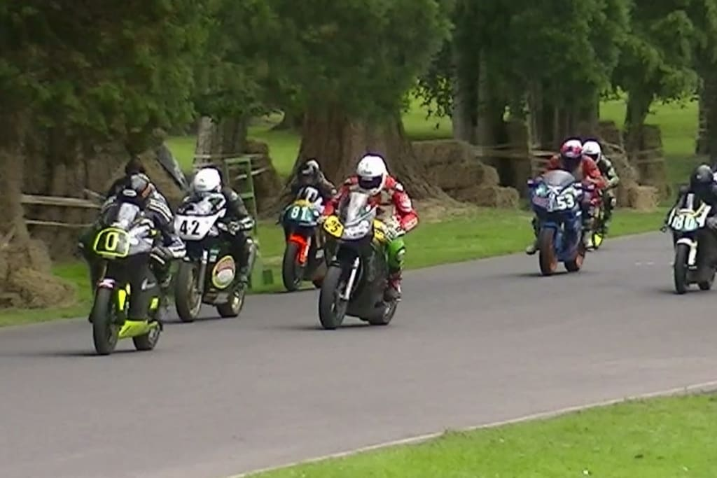 ABERDARE park motorcycle racing 2 days end of July 3 miles from House Dates for 2018 22/23 July.