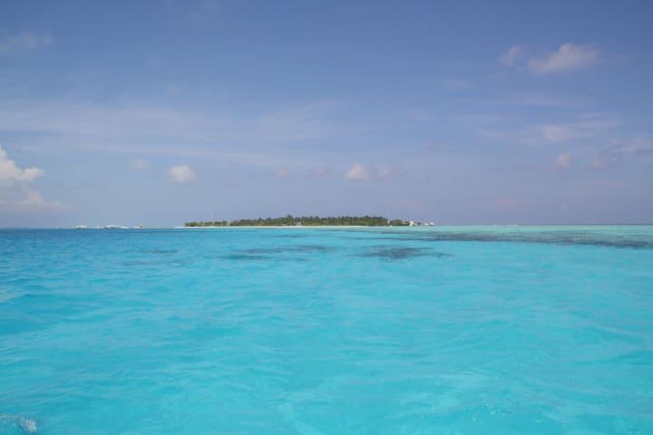 Private Rooms in Maafushi Island - Maafushi - Bed & Breakfast