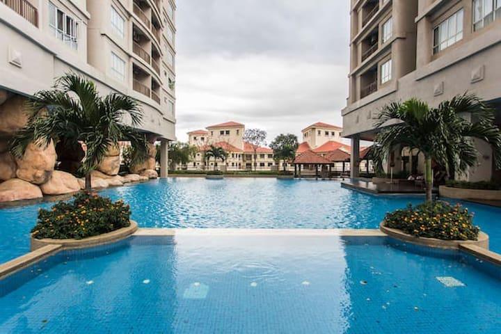 Two Rooms King's Palace & KL view - Kuala Lumpur - Condominio