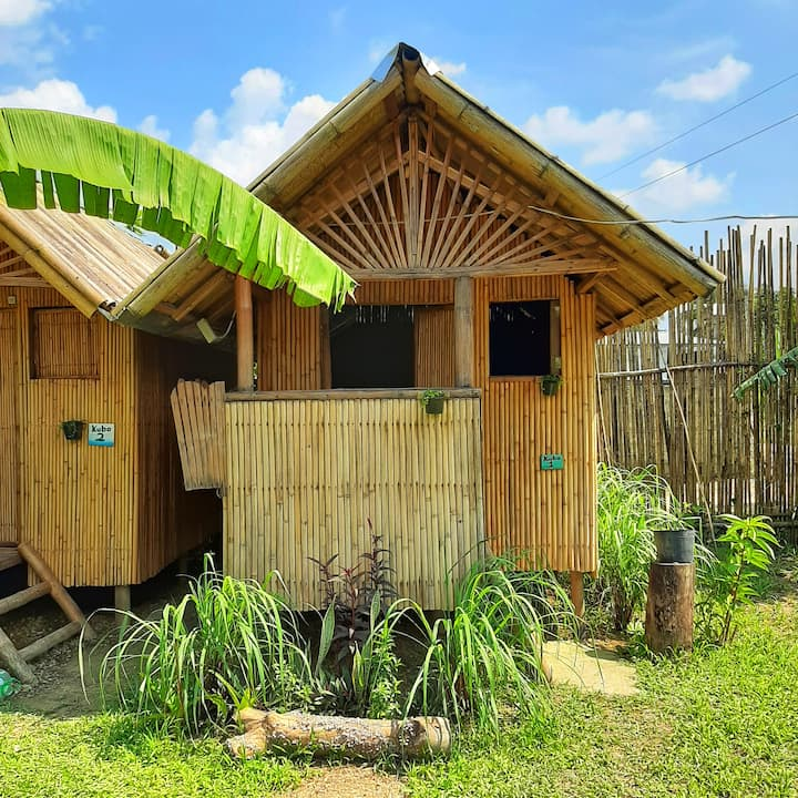 El Nido Private Bamboo Hut Eco Lodge nr Lio Beach