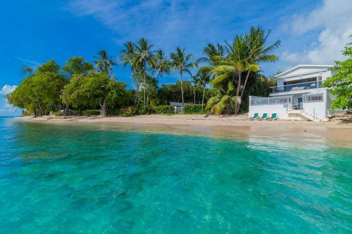 Chic Beachfront Villa with Plunge Pool- Westshore