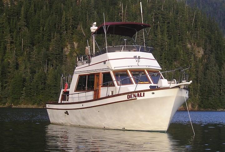 M/Y Denali -  42 ft. Tri- Cabin Trawler