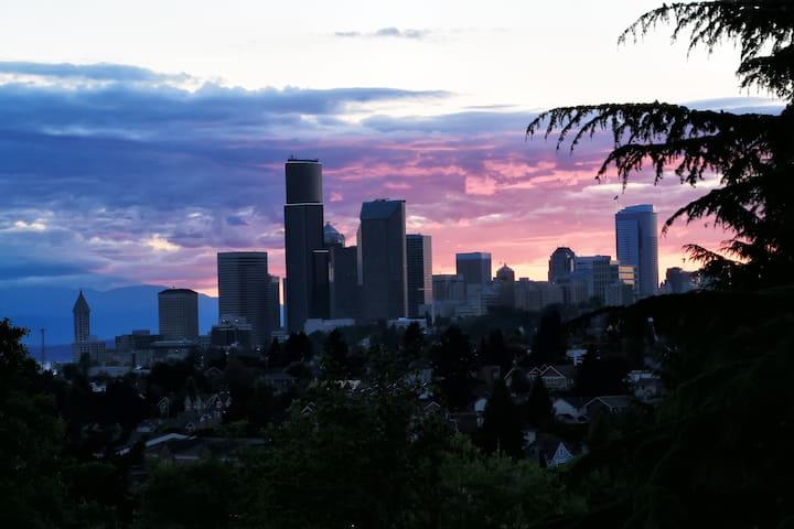 Mount Baker Modern C - Quiet View Apt - Seattle - Lägenhet