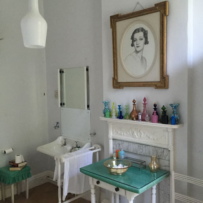 Bathrooms are individually designed and are an exquisite feature of the house