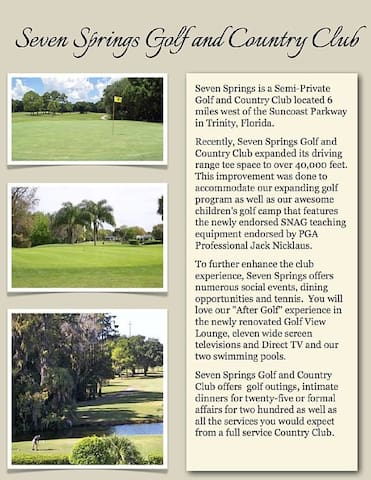 Golf Course Community Villa in a great location! - New Port Richey - Villa