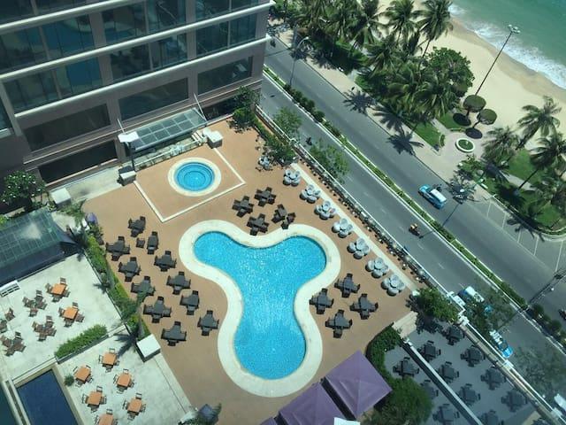 Handy balcony seaview NhaTrang Center apartment - Thành phố Nha Trang - Byt