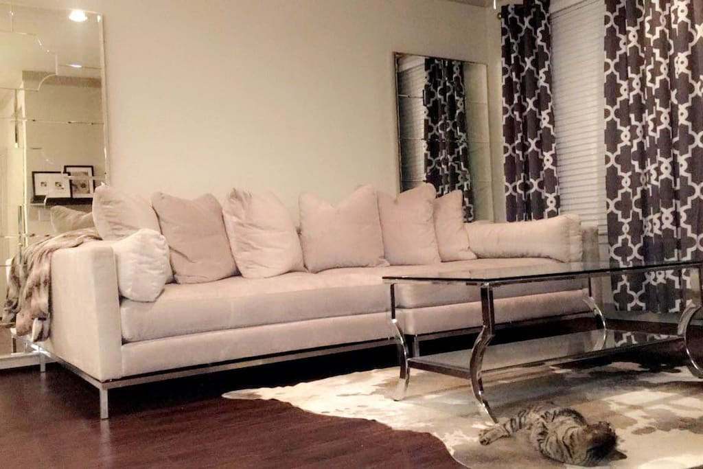 Living Room. Sofa Bed 3-4 Occupants, Comfortably.