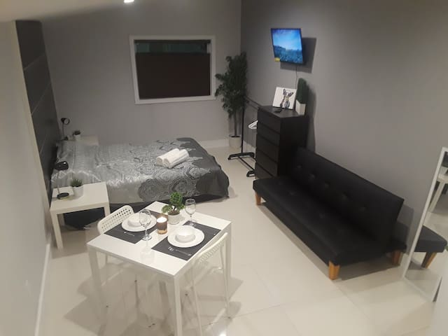 Modern studio Apartment, 7min to hallandale beach