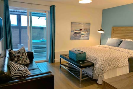 New modern two bedroom in-law unit