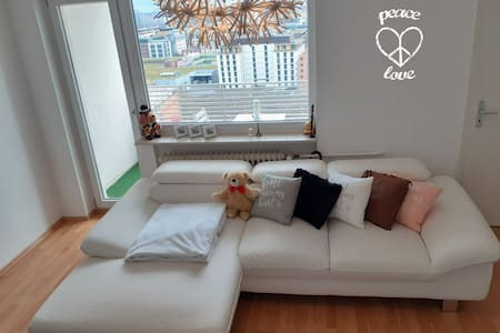 Bright appartment with Balcony - near ECB and Zoo