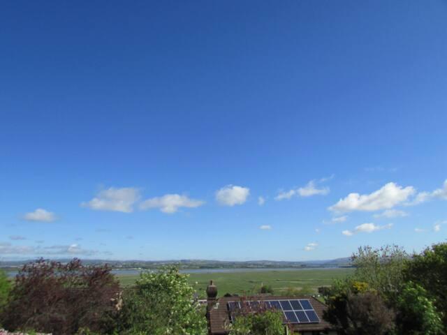 View over Loughor Estuary