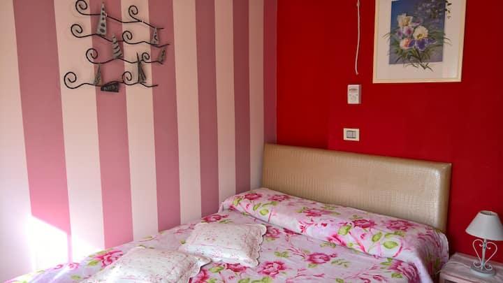 B&B 10 minutes walk Arezzo centre - Pink Room