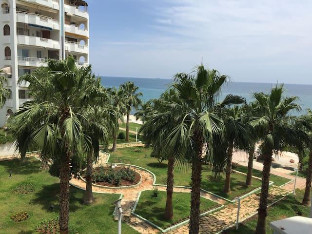Akdeniz'de sakin ve huzurlu tatil