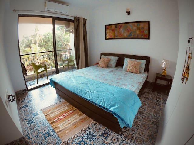 Bedroom- Full view