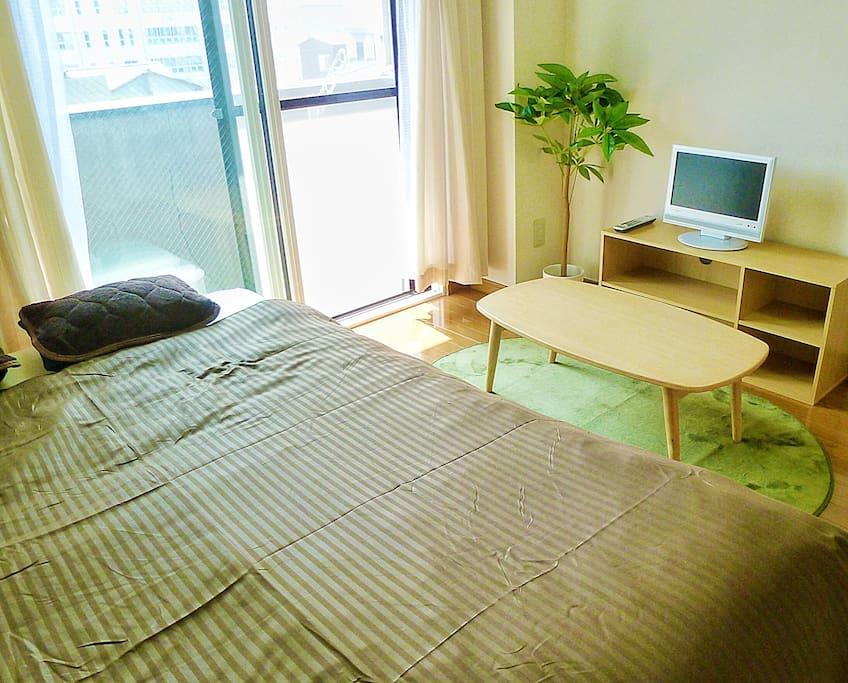 部屋全景1 Full view of the room 1