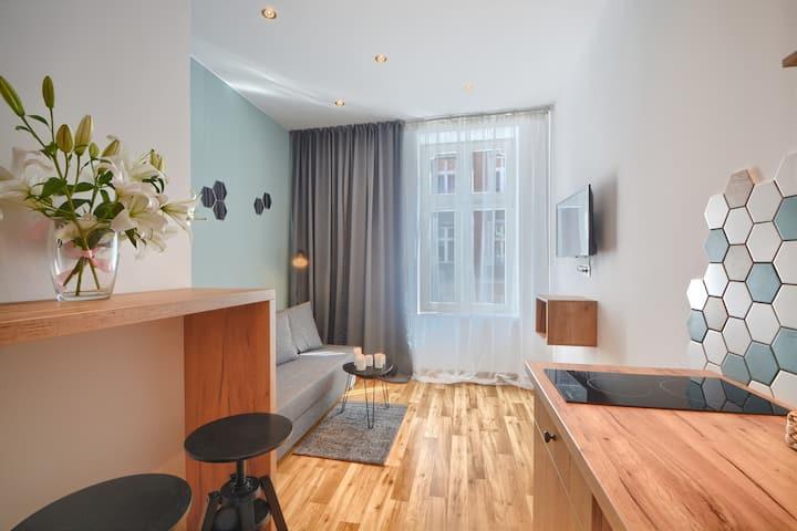 Studio Apartment  3A City Center Self Check In