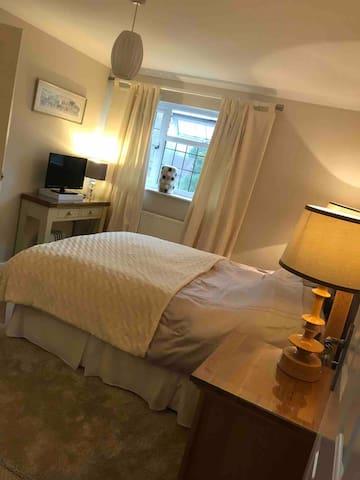 The second bedroom with en-suite