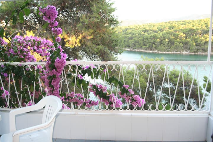 Sea View 2, Private Waterfront - Vrboska - Appartement