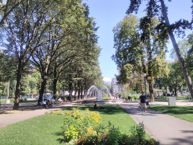 Parc du Verney (4 minutes)