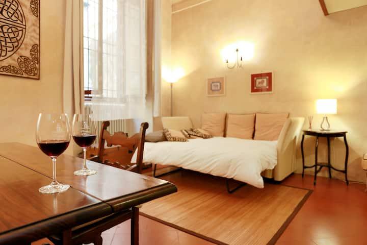Roomy and elegant loft by Ponte Vecchio