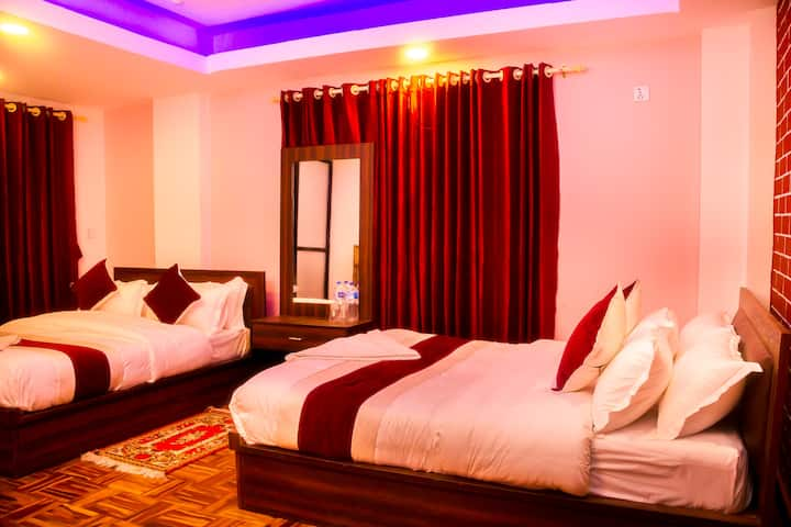 Chamati boutique homestay family room BNB