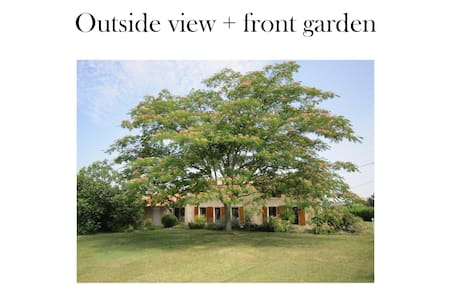 Traditional French Countryhouse - close Vinexpo - Gironde - Haus