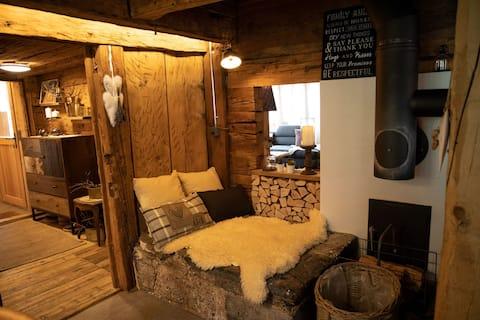 Ruhig gelegenes Voralpenhaus in den Walliser Alpen
