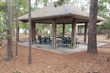 Picnic area 250 yards