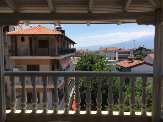 Panoramic Stay overlooking Olympus - Makedonia Thraki - Apartemen