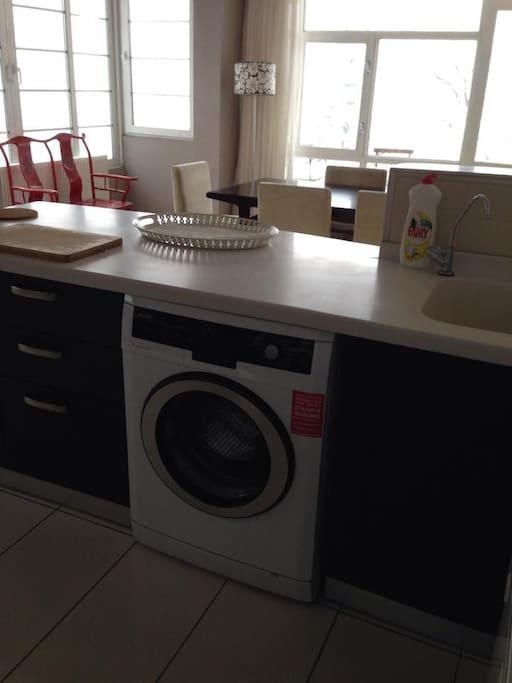 Beautiful fitted modern kitchen