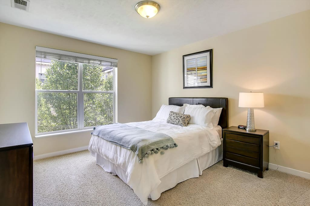 Master Bedroom with Natural Light