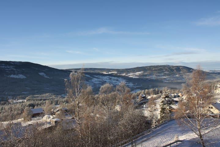 Stor hytte/hus nært alpinanlegg - Nord-Aurdal - Casa