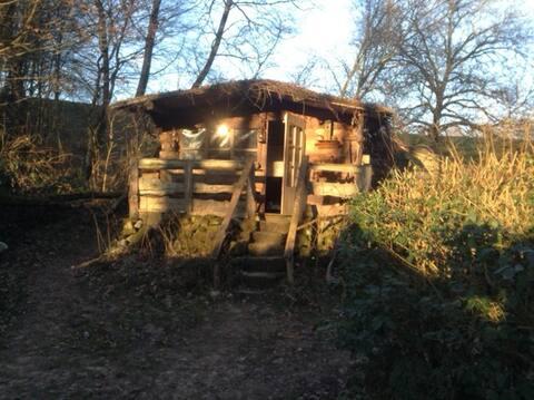 Unique caravan-hut at a special location!