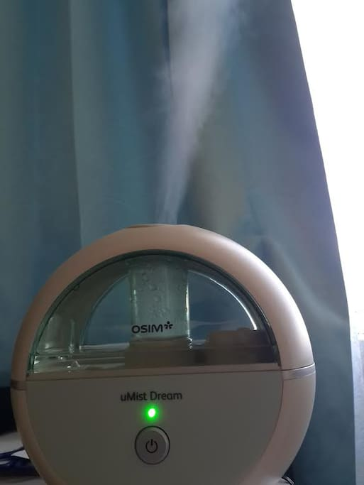 Complimentary use of the OSIM uMist Dream Air Humidifier which promotes better sleep quality. Featuring Ultrasonic technology, it creates the ideal humidity level in the air to provide a hydrated, comfortable and healthier indoor environment for a good night's sleep.
