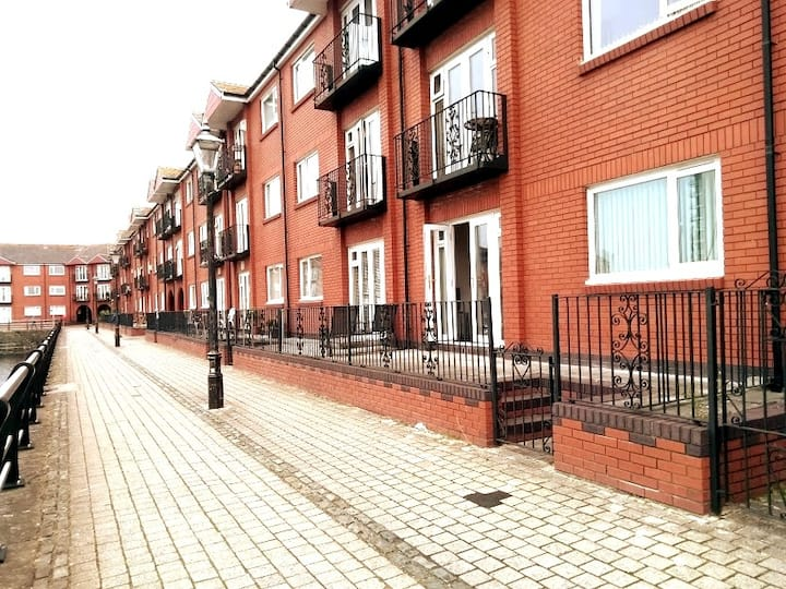 Apartment in the heart of Swansea Maritime Quarter