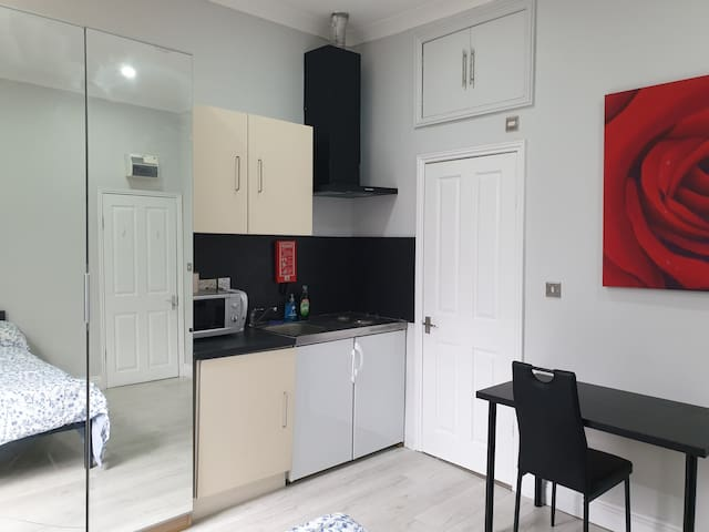 Modern Studio one minute walk from tube station