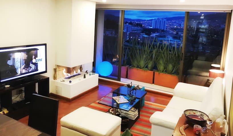 Hermosa habitación, el mejor sector - Tunja - Apartament