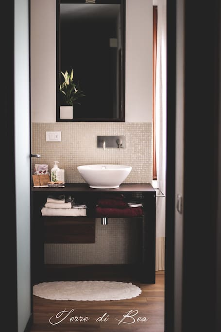 suite, bagno